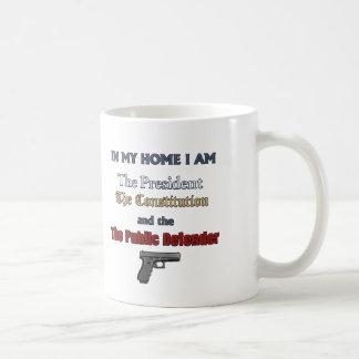In My Home I Decide Coffee Mug