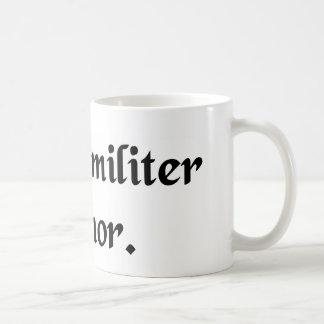 In my humble opinion. coffee mug