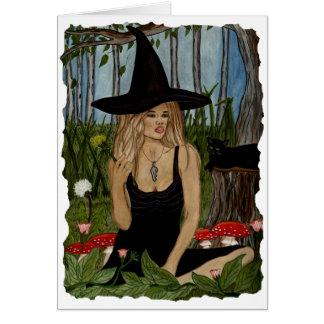 In My Magic Garden Blank Card