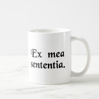 In my opinion. coffee mug