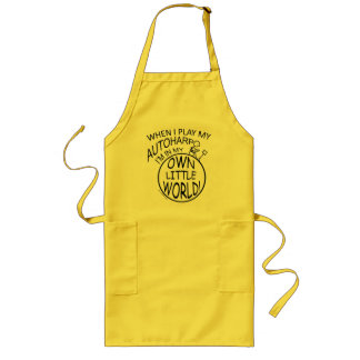 In My Own Little World Autoharp Long Apron