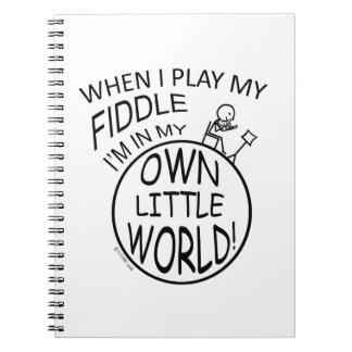 In My Own Little World Fiddle Notebooks