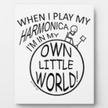In My Own Little World Harmonica Photo Plaque