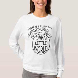 In My Own Little World Harpsichord T-Shirt