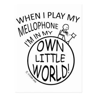 In My Own Little World Mellophone Postcard