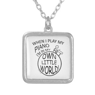 In My Own Little World Piano Custom Jewelry