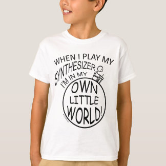 In My Own Little World Synthesizer T-Shirt