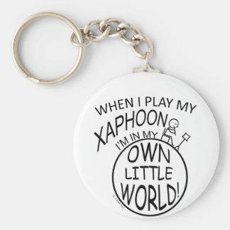 In My Own Little World Xaphoon Key Chains