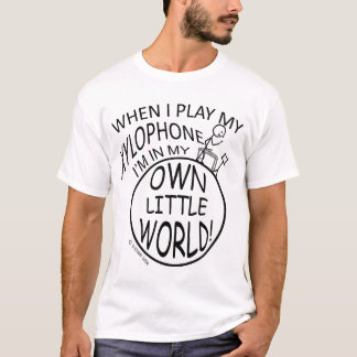 In My Own Little World Xylophone T-Shirt