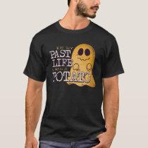 In My Past Life I Was A Potato Cute Vegan T-Shirt