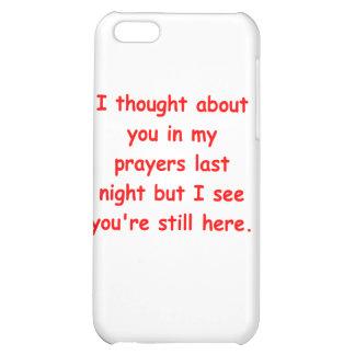 in my prayers iPhone 5C cases