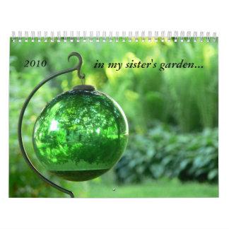 in my sister's garden 2010 calendar