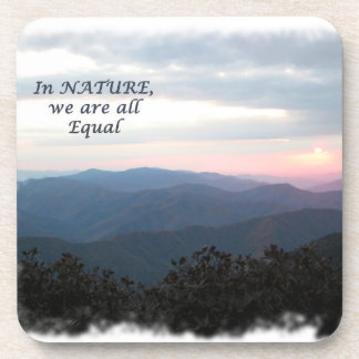 In Nature, we are all equal! Drink Coaster