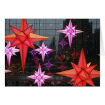 In New York City. Christmas decoration inside Greeting Card