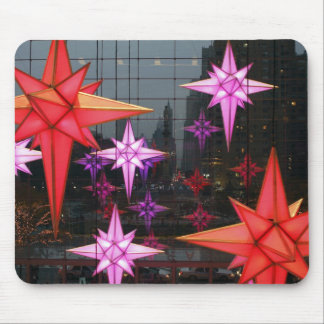 In New York City. Christmas decoration inside Mouse Pad