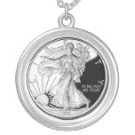 In No Fiat We Trust Liberty Coin Custom Necklace