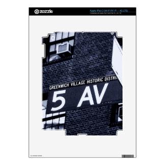 In NYC iPad 3 Skin