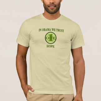 In Obama We Trust - (One Hope) Creme Tee