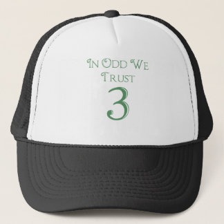 In Odd We Trust Trucker Hat
