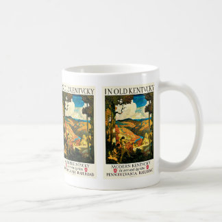 In Old Kentucky Classic White Coffee Mug