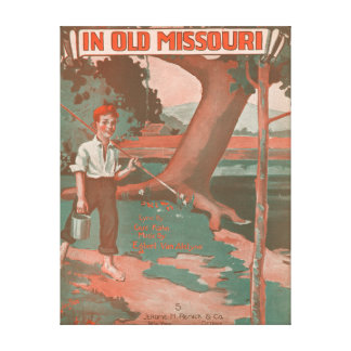 In Old Missouri Canvas Prints