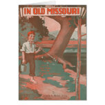 In Old Missouri Greeting Card