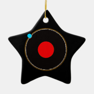 In Orbit Ceramic Ornament