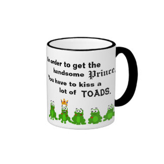 In order to get the handsome Prince Ringer Coffee Mug