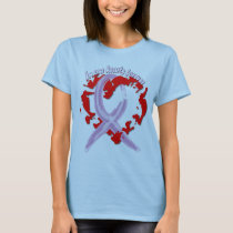 In Our Hearts Forever - General Cancer T-Shirt
