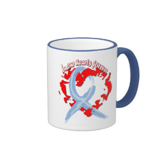 In Our Hearts Forever Ringer Coffee Mug