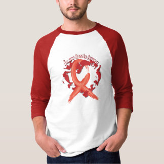In Our Hearts Forever - Red Tee Shirt