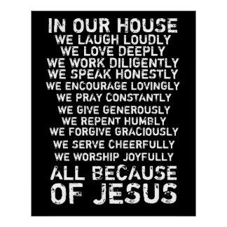 In Our House Poster