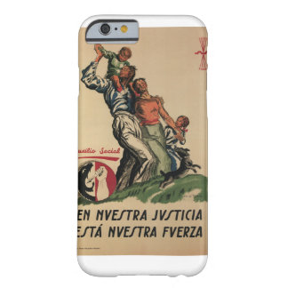 In our justice is our strength_Propaganda Poster Barely There iPhone 6 Case
