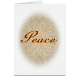 In Peace Card