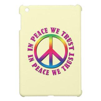 In Peace We Trust iPad Mini Cover