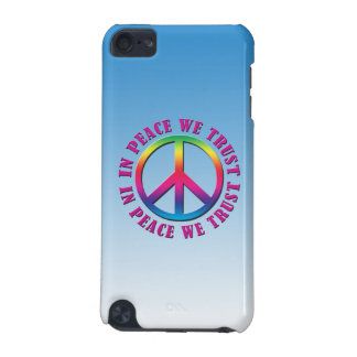 In Peace We Trust iPod Touch 5G Covers