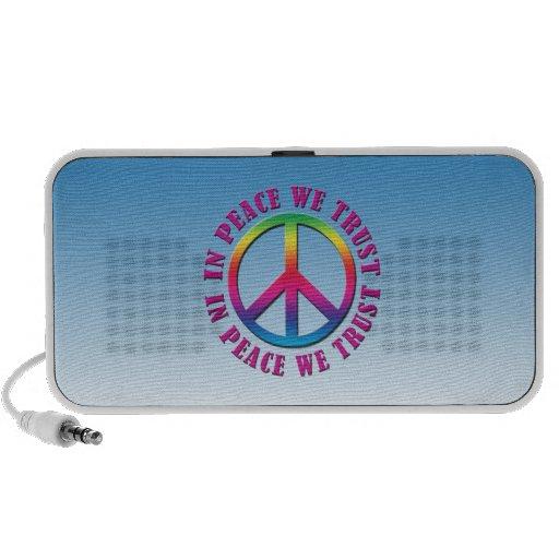 In Peace We Trust Portable Speaker