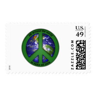 In Peace We Unite Stamp