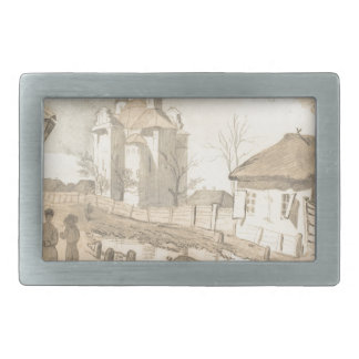 In Pereiaslav. The Church of the Intercession. Rectangular Belt Buckles