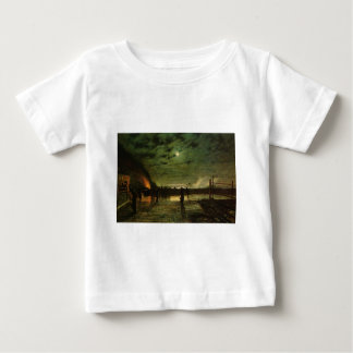 In Peril by John Atkinson Grimshaw Baby T-Shirt