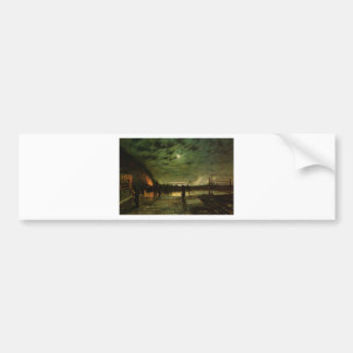 In Peril by John Atkinson Grimshaw Bumper Sticker