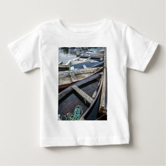 In Perkins Cove, Maine, row boats Baby T-Shirt