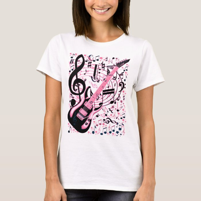 In Pink,Rock & Roll_ T-Shirt