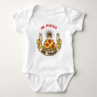 In Pizza We Trust Tee Shirt