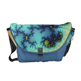 In Playcast - Fractal Art Messenger Bag