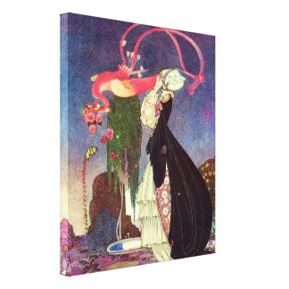 In Powder and Crinoline Old Fairy Tales Canvas Print
