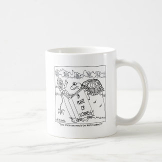 In Praise of Slowness Classic White Coffee Mug