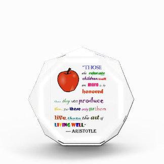 In Praise of Teachers Award