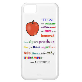 In Praise of Teachers Cover For iPhone 5C