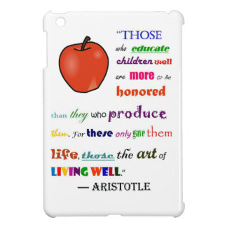 In Praise of Teachers Cover For The iPad Mini
